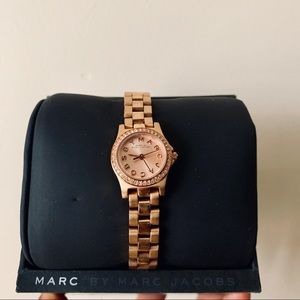 Marc By Marc Jacobs Rose Gold Dinky Watch